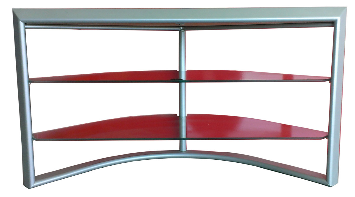 Lc Plasma Shell Tv Stand 1000 Silver