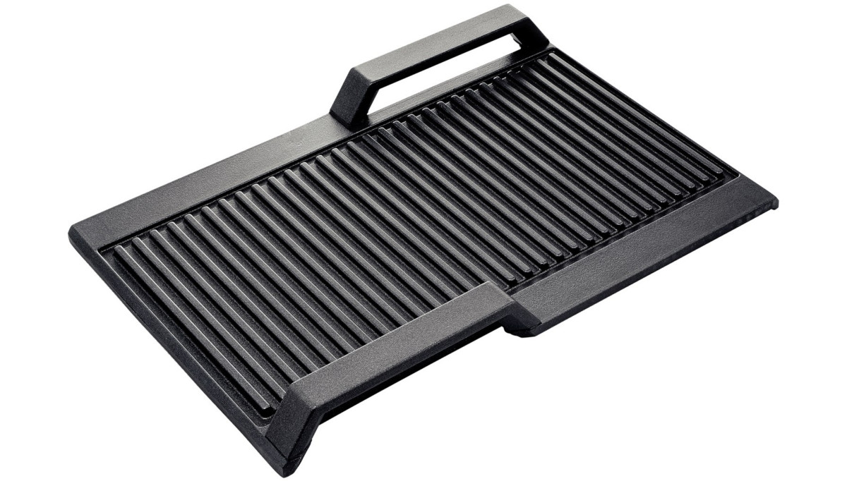NEFF Grill Plate For FLEX Induction Hobs Z9416X2 Black
