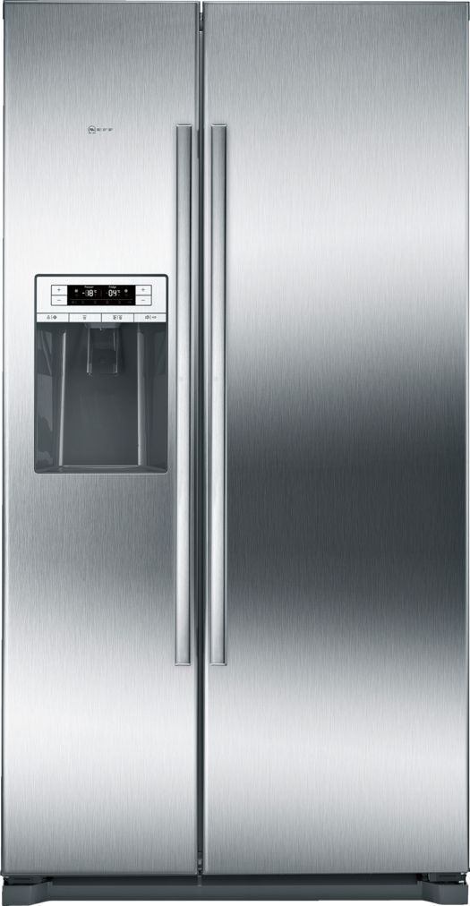 Neff Neff Side By Side Fridge Freezer Ka3902i20 608lt A Inox