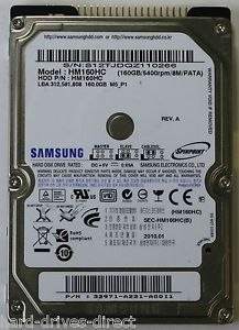 NOTEBOOK HDDS